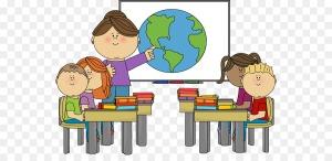 teacher in class