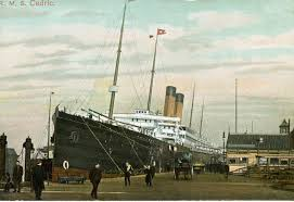R.M.S. Cedric - The Ship 'Abdu'l-Baha Arrived in New York City on 11 April  1912 | 'Abdu'l-Bahá in America